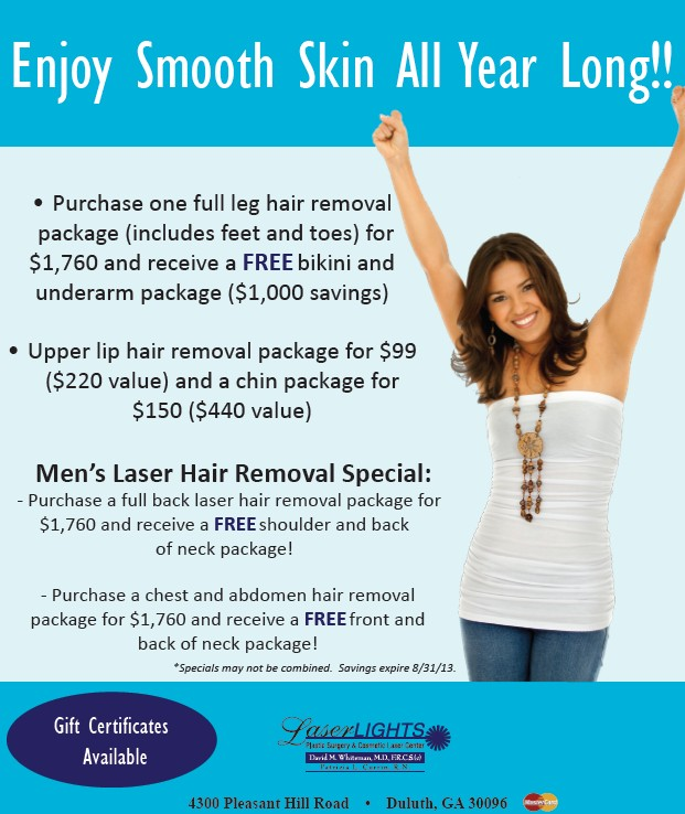 Laser Lights Cosmetic Laser center Duluth GA
