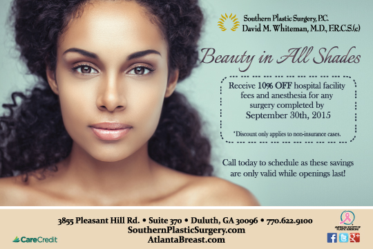 atlanta plastic surgeon discounts