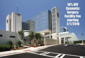 10% OFF facility fees for cosmetic surgery at Gwinnett Medical Center (Duluth & Lawrenceville) until 4/27/2018.
